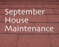 September House Maintenance