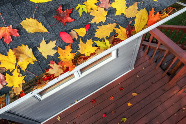 autumn roof maintenance